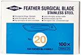 GF Health 2976#20 GF Health Sterile Surgical Blade, 20 (Pack of 100)