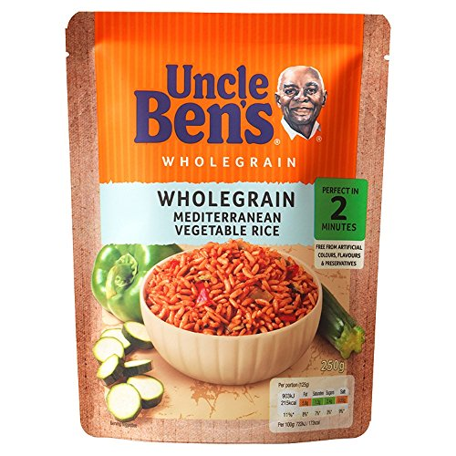 (Uncle Bens Express Wholegrain Meditteranean Vegetable Rice 250g)