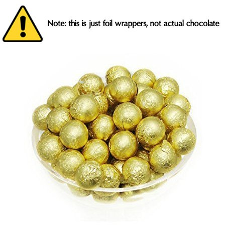 Foil Confectionery (Gold) Wrapper - Candy Bar Wrappers