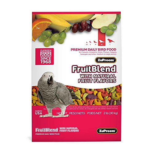 zupreem fruit blend large - 7