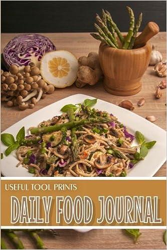 useful tool prints daily food journal food journal notebook food