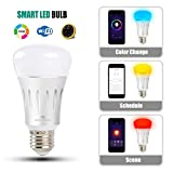 Wifi Smart Led Light Bulb, ZeroLemon Multi Color