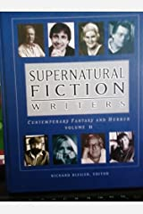 Supernatural Fiction Writers Fantasy and Horror Hardcover