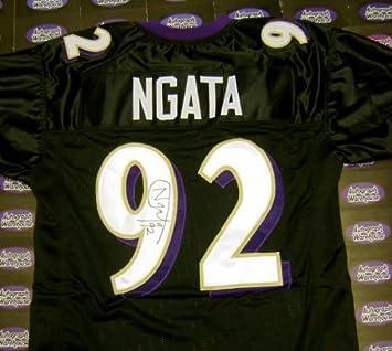 Haloti Ngata autographed Jersey (Baltimore Ravens 2013 Super Bowl Champion)  XL JSA Authentication Hologram c030828a3