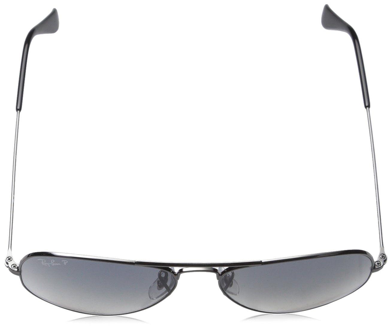 ed71cd1793c076 Ray-Ban - Lunettes de Soleil - RB3025 Aviator Metal Aviator Polarisée 58  mm  Amazon.fr  Vêtements et accessoires