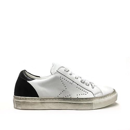 Sneakers Donna Traforate Nere in Pelle Made in Italy Venta Barata Exclusiva Mejores Precios De Liquidación Confiable Para La Venta Escoger Una Mejor Línea sNsLMEkIt