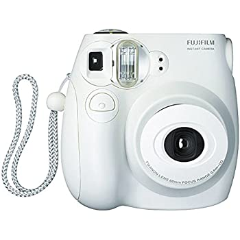 fujifilm instax mini 7s white instant film camera polaroid camera camera photo. Black Bedroom Furniture Sets. Home Design Ideas