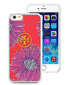New Antiskid Designed Cover Case For iPhone 6 4.7 Inch TPU With Tory Burch 41 White Phone Case