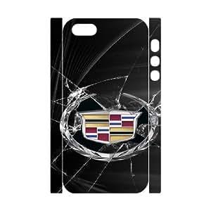 iphone 5 5S 3D Custom Cell Phone Case Cadillac Car Logo Case Cover W8FF36660