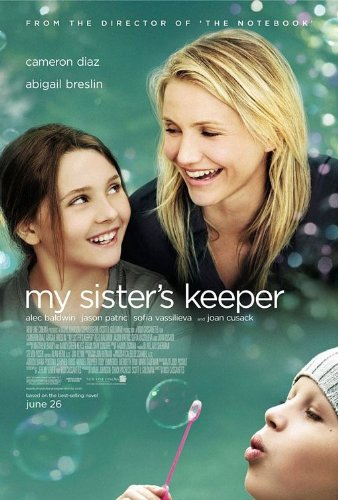 MY SISTER'S KEEPER - Movie Poster - Double-Sided - 27x40 - Original - ABIGAIL BRESLIN - CAMERON DIAZ