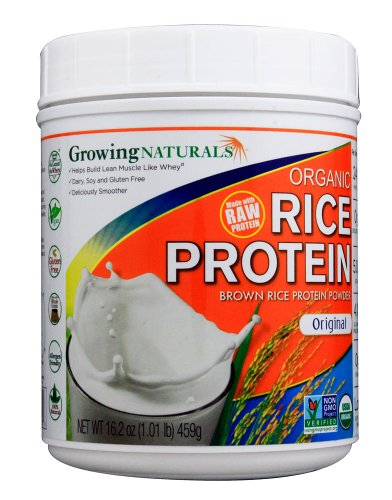 Growing Naturals Prtn Rice Pwdr Orgnl Org by Growing Naturals