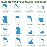 Headwear - 16-in-1 Headband to Protect You from the Sun, Wind and Dust