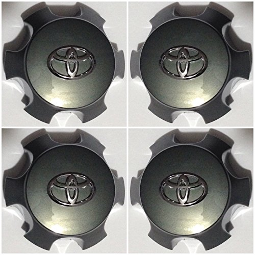 Toyota 4runner Center Caps - T561 Gosweet Set of 4 Replacement 2010-15 Fit For Toyota 4Runner FJ Cruiser wheel center hubcaps CHARCOAL 560-69561 US