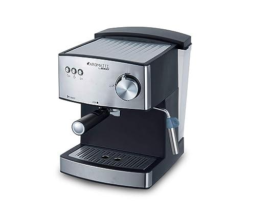 SOGO CAFETERA Combi SS-5665 Aromatti, 850W, 15/20 Bar, para Café Molido y Cápsulas ESE Mono dosis, Vaporizador, Superficie Calienta Tazas, Brazo Doble ...