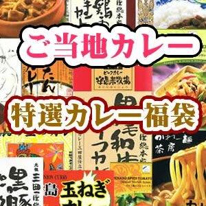 (お試しセットトライアル食べ比べ) 関西の厳選ご当地カレー おたのしみ福袋セット