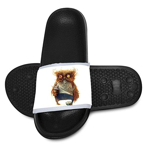 Ta-Ta Frog Unisex Slippers 3D Printed Hobo Owl Anti-Slip Indoor & Outdoor Sandals for Kids - Curvy Hobo