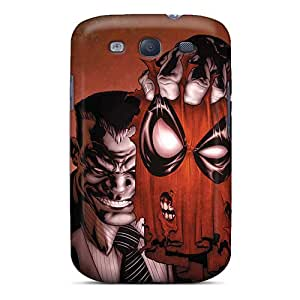 Samsung Galaxy S3 Hzb1592NcOS Unique Design Stylish Deadpool I4 Pictures Shock Absorption Hard Phone Covers -SherriFakhry