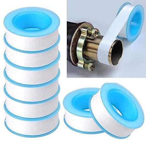 (10pcs Stop Leaks Repair Sealing Adhesive Thread Seal Seal Tape Plumber Fitting Roll Pipe Water Plumbing)