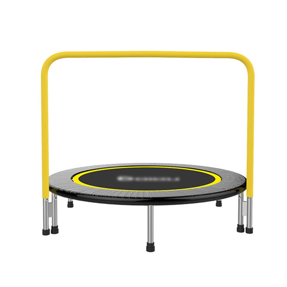 48-Zoll-Trampolin mit Griff, sicherer Gummiband-Fitness-Trainer für Kinder oder Erwachsene