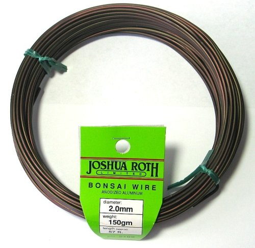 Bonsai Wire 2.0 Mm 50 Percent More Than Competing Brands by Joshua Roth