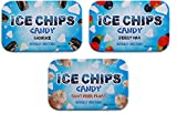 ICE CHIPS Candy 3 Pack Assortment (Licorice, Berry, Root Beer Float)