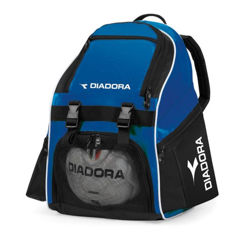 - Diadora Junior Squadra Backpack (Royal/Black)