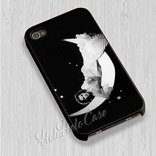 Hedy Lamarr pour Coque Iphone 6 et Coque Iphone 6s Case (Noir Boîtier en plastique dur) Z3J8VJ