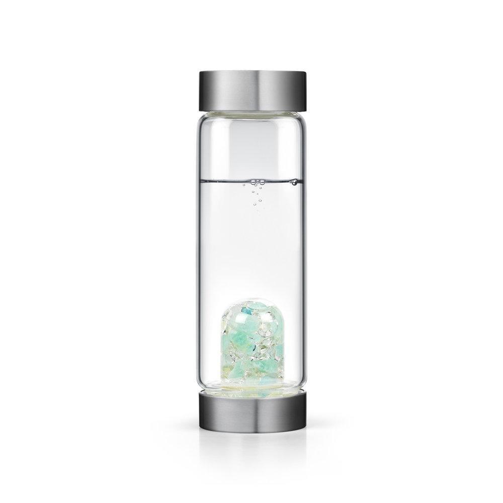 Inner Purity gem-waterボトルby VitaJuwel W / Freeカリフォルニアホワイトセージバンドル 16.9 fl oz B07BH7HY2W