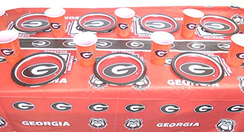 Georgia Bulldogs 4th of July 49 pieces Party set. -