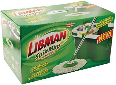 Libman Bucket Green White Spin product image