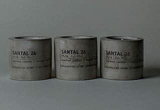 product image for Le Labo SANTAL 26 mini concrete candles 59.5g / 2.1oz each. Set of 3 candles.