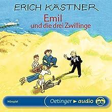 Emil und die drei Zwillinge Hörspiel von Erich Kästner Gesprochen von: Hans Söhnker, Detlef Wendtland, Tobias Meister