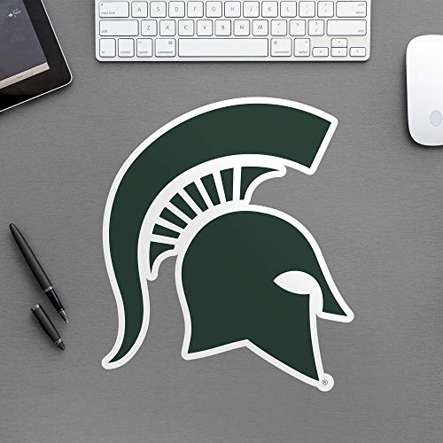 Michigan State Spartans Logo - FATHEAD NCAA Michigan State Spartans - Logo Teammate- Officially Licensed Removable Wall Decal, Multicolor, Big
