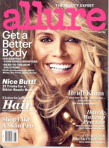 Allure Magazine (May, 2012) Heidi Klum Cover