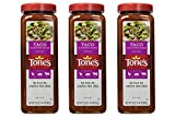 Tone's Spices Taco Seasoning Traditional Blend for Mexican Dishes - Net Weight 23 oz (3 Pack)