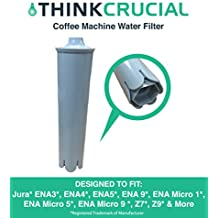 Replacement for Jura Clearyl Blue Water Filter, Fits Coffee Machines ENA3, ENA4, ENA5, J6, J9, & J95, Compatible With Part # 67879, by Think Crucial
