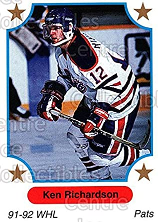 Ken Richardson (ice hockey) Amazoncom CI Ken Richardson Hockey Card 199192 7th Inning
