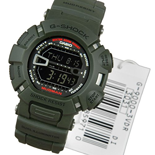 G Shock Mens Watch Mudman G 9000 3VDR