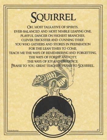 AzureGreen EPSQUP Squirrel Prayer