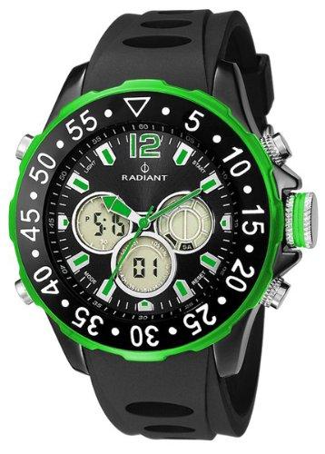 Radiant new Universe Reloj para Hombre Digital de Cuarzo con Brazalete de Silicona RA155603: Amazon.es: Relojes