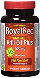 Best Omega 3 Pharmaceuticals - Webber Naturals Royalred Extra Strength Omega-3 Krill Oil Review