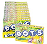 DOTS SOUR THEATER BOX CANDY 12PC/CASE, Case of 9