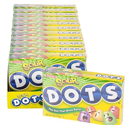 DOTS SOUR THEATER BOX CANDY 12PC/CASE, Case of 9 by DollarItemDirect (Image #4)