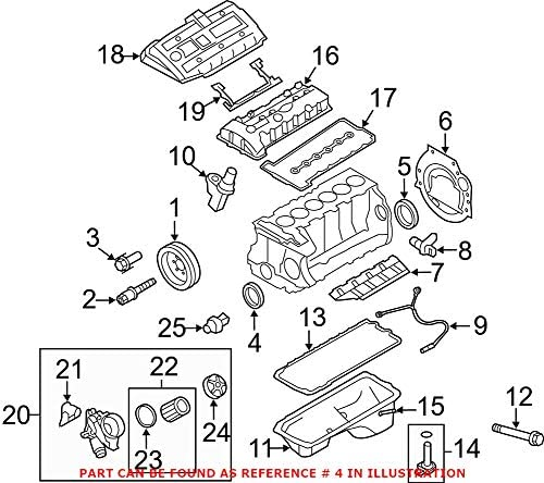Replacement Parts Bearings & Seals Genuine OEM Front Engine ...