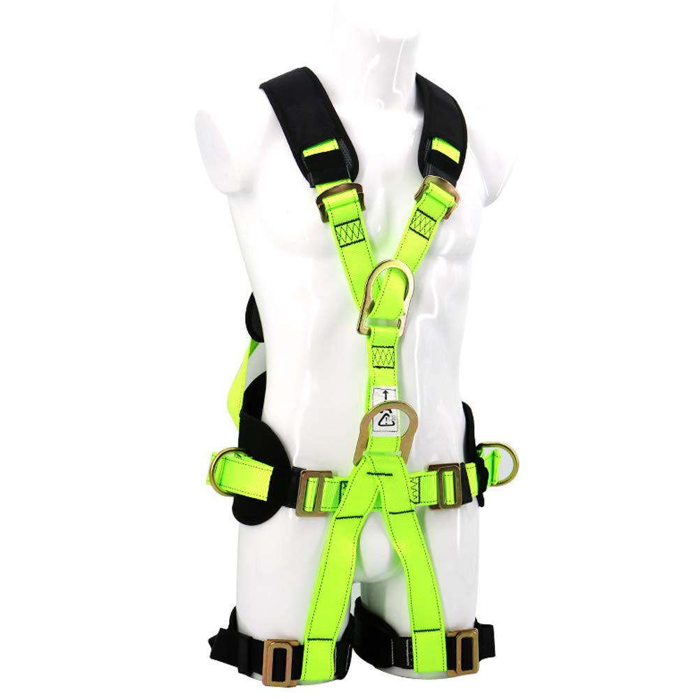 Safety Fall Protection Harness high Altitude Anti-Falling Sling Outdoor Expansion Climbing Rock Climbing Polyester Belt by HENRYY (Image #1)