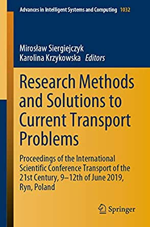 Research Methods and Solutions to Current Transport ...
