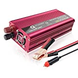 2000W Car Power Inverter,Mesllin DC 12V to AC 110V Modified Sine Wave Converter with 2 AC Outlets and 5A USB Ports for Laptops, Tablets, Camera and more