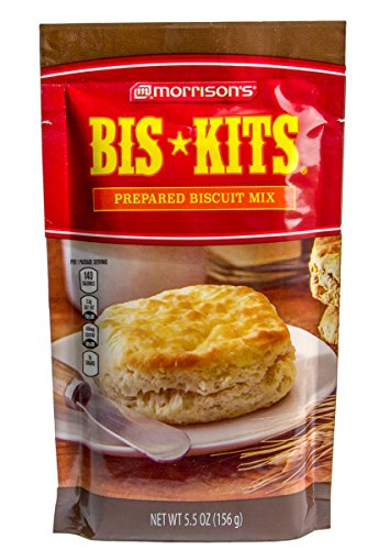 Morrison's Bis-Kit Prepared Biscuit Mix 5.5 Oz (Pack of 6) by Morrisons
