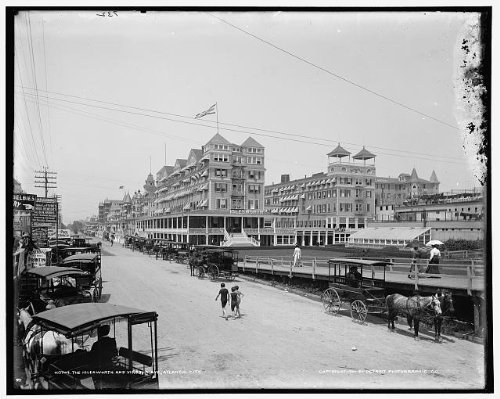 Photo: Islesworth,Virginia Avenue,hotels,carriages,Atlantic City,New - Atlantic Shopping Avenue