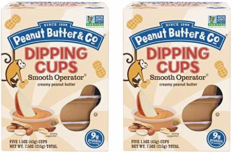 Peanut & Nut Butters: Peanut Butter & Co. Dipping Cups